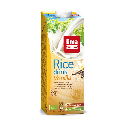 Lapte de Orez cu Vanilie Bio 1l Lima
