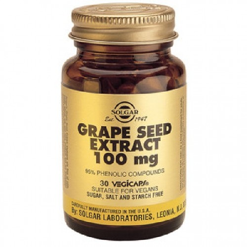 Extract Seminte De Struguri 100mg 30cps Solgar