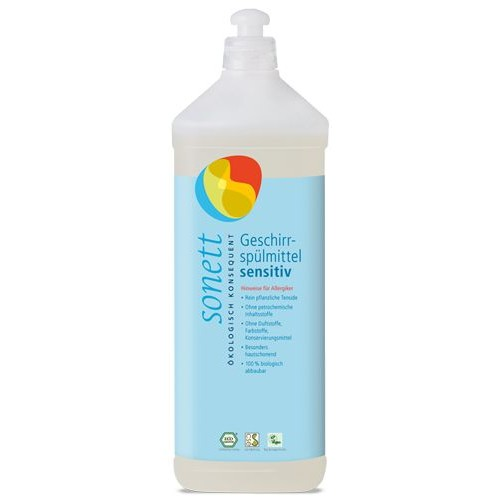 Detergent Ecologic Prentru Spalat Vase Neutru 1l Sonett