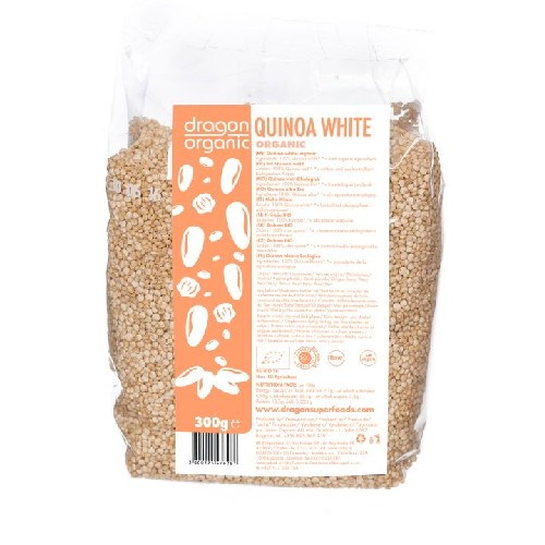Quinoa Alba Bio 300gr Dragon Superfoods