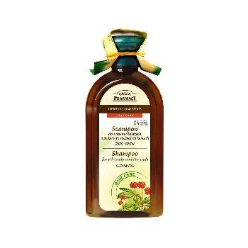 Sampon Cu Ginseng Green Pharmacy 350 Ml