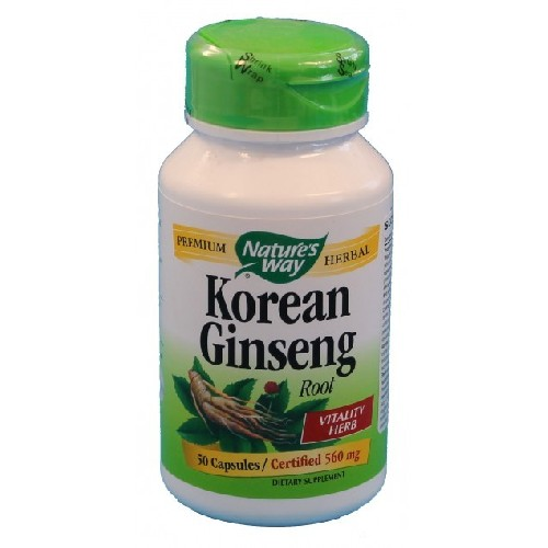 Korean Ginseng 50cps Secom