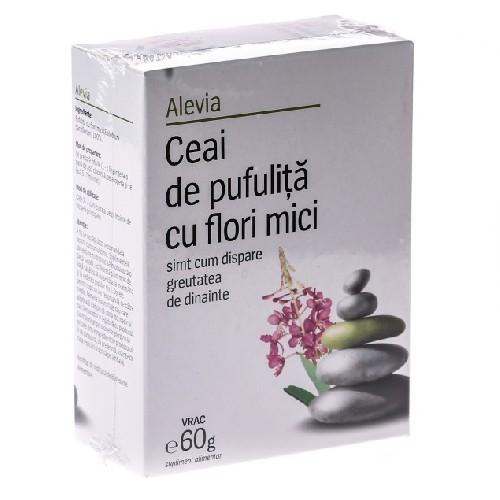 Ceai De Pufulita Cu Flori Mici 60gr Alevia