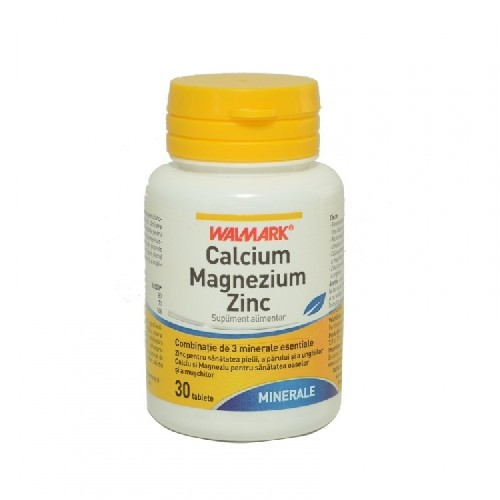 Ca-Mg-Zn 30tablete Walmark