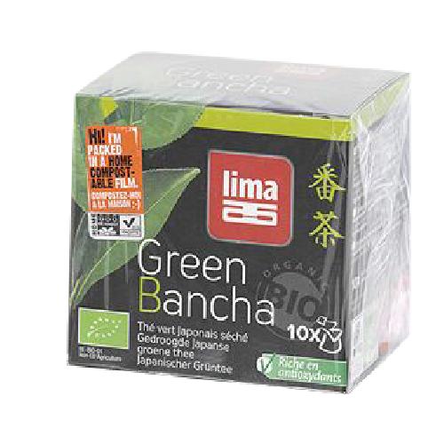 Ceai Verde Japonez Bancha Bio 15gr 10pliculete Lima