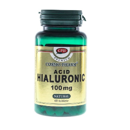 Acid Hialuronic 100mg 60tablete CosmoPharm
