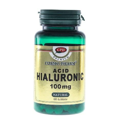 Acid Hialuronic 100mg 60tablete CosmoPharm