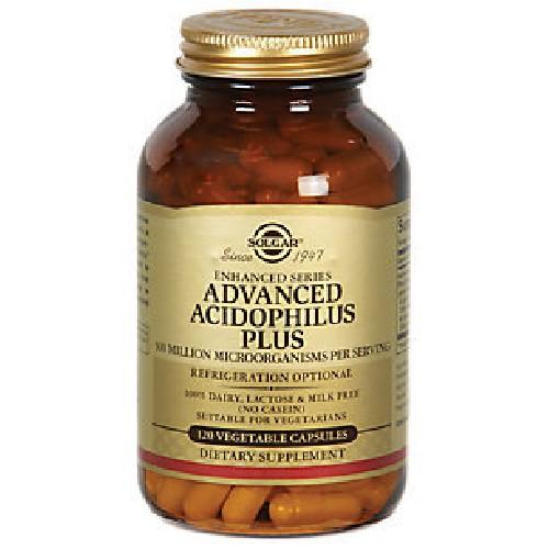 Advanced Acidophilous Plus 60caps Solgar