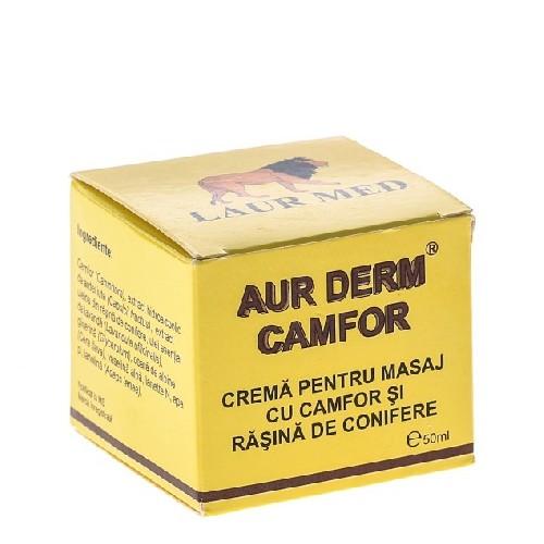 Aur Derm Crema Masaj cu Camfor 50ml