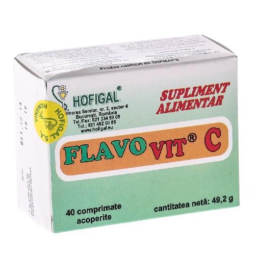 Flavo Vit C 40cpr Hofigal