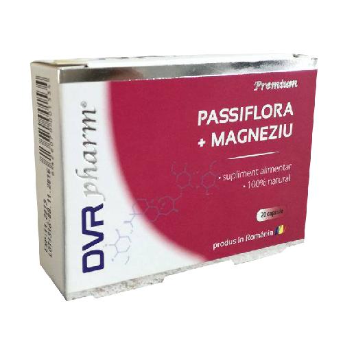 DVR Passiflora+Magneziu 20cps