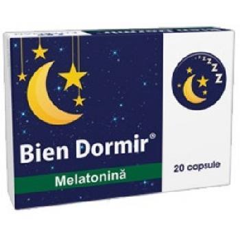 Bien Dormir+Melatonina 20cps Fiterman
