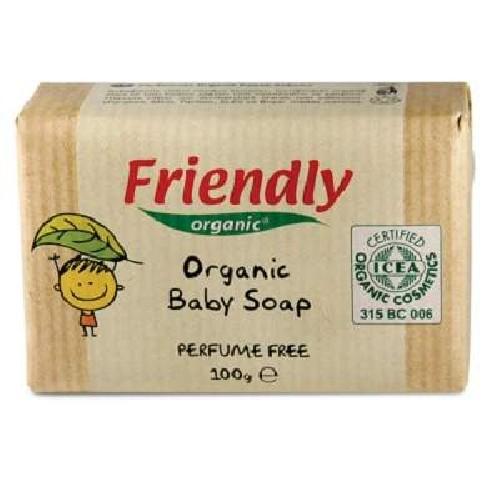 Sapun Solid Organic pentru Bebe 100gr Friendly